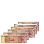 Ficha técnica e caractérísticas do produto Corretivo Pocket Concealer Light Ruby Rose - Box 12 Unidades