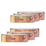 Ficha técnica e caractérísticas do produto Corretivo Pocket Concealer Light Ruby Rose - Kit 6 Un