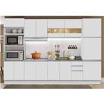 Cozinha Compacta 6 Peças Glamy Madesa Branco