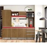 Ficha técnica e caractérísticas do produto Cozinha Compacta Vitória 5 Portas Soluzione Flex Color