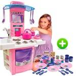 Cozinha Infantil Nova Big Cozinha + Meu Jantarzinho Big Star