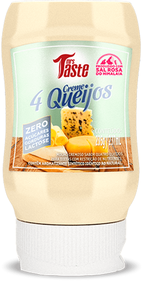 Creme 4 Queijos 235g - Mrs Taste