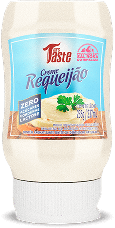 Ficha técnica e caractérísticas do produto Creme de Requeijão 235g - Mrs Taste