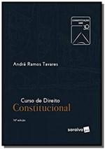 Ficha técnica e caractérísticas do produto CURSO DE DIREITO CONSTITUCIONAL - 16a ED - Saraiva
