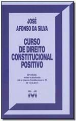 Ficha técnica e caractérísticas do produto Curso de Direito Constitucional Positivo - 42ª Ed. 2019