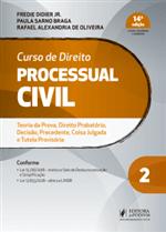 Ficha técnica e caractérísticas do produto Curso de Direito Processual Civil - V.2 (2019)