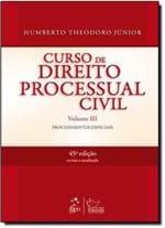 Ficha técnica e caractérísticas do produto Curso de Direito Processual Civil, V.3