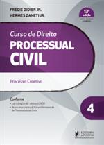 Ficha técnica e caractérísticas do produto Curso de Direito Processual Civil - V.4 (2019)