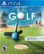 Ficha técnica e caractérísticas do produto 3D Mini Golf