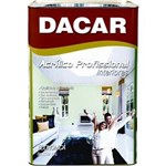 Ficha técnica e caractérísticas do produto Dacar Profissional Acrilico Fosco Branco 18L