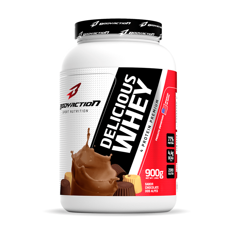 Ficha técnica e caractérísticas do produto Delicious Whey (900g) Body Action