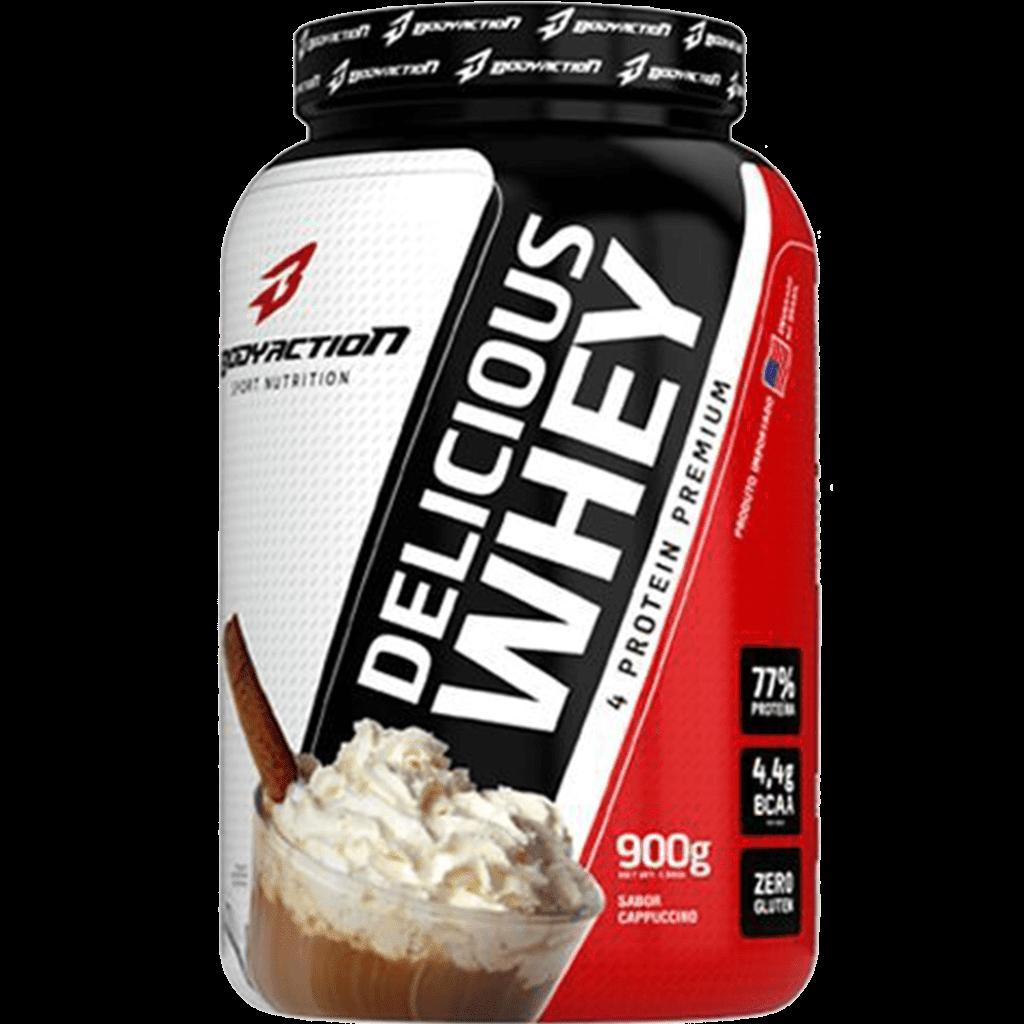 Ficha técnica e caractérísticas do produto Delicious Whey 900G Cappuccino Body Action