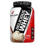 Ficha técnica e caractérísticas do produto Delicious Whey (900G) (Cappuccino) - Body Action