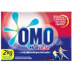 Ficha técnica e caractérísticas do produto Detergente Po Omo 2kg Multiacao 9x1