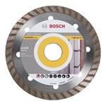 Ficha técnica e caractérísticas do produto Disco Bosch Diamantado Turbo Universal 2608602713000 - Prata