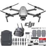 Ficha técnica e caractérísticas do produto Drone Dji Mavic 2 Pro Combo Fly Mavic2 Pro 32gb Kit Combo 3 Baterias