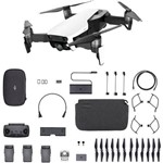 Ficha técnica e caractérísticas do produto Drone Mavic Air Combo More Fly Alpine White