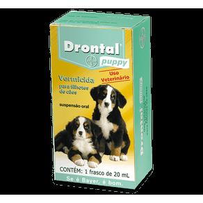 Ficha técnica e caractérísticas do produto Drontal Filhotes 20 Ml