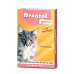 Ficha técnica e caractérísticas do produto Drontal Gatos para 4kg Caixa com 4 Comprimidos