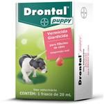 Ficha técnica e caractérísticas do produto Drontal Puppy 20ml Vermicida para Filhotes de Cães - Bayer