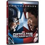 DVD - Capitão América: Guerra Civil