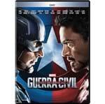 Ficha técnica e caractérísticas do produto DVD Capitão América 3 - Guerra Civil