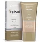 Episol Color Base Facial Pele Extra Clara Fps 70 40g