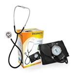 Esfigmomanômetro + Estetoscópio Incoterm C100