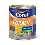 Esmalte Brilhante Branco 1/4 900ml Coralit Zero Coral