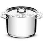 Espagueteira Aço Inox Solar 24cm - Tramontina - 62517/240