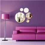 Espelho Decorativo Acrílico - Conjunto de Bolas