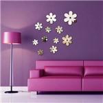 Espelho Decorativo Acrílico - Flores
