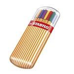 Ficha técnica e caractérísticas do produto Estojo Caneta Point 88 com 15 + 5 Cores Neon - Stabilo