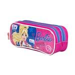 Ficha técnica e caractérísticas do produto Estojo Escolar Duplo Barbie 17X - Sestini