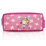 Estojo Necessaire Escolar Infantil Criança Ziper Menina Jacki Design Pink Passaro