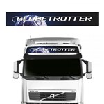 Faixa Globetrotter Volvo FH NH FM Adesivo Quebra-Sol Teto - Sportinox