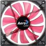 Ficha técnica e caractérísticas do produto Fan Aerocool P/ Gabinete 140X140X25 Led Red En51370