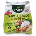 Ficha técnica e caractérísticas do produto Farinha de Coco 400g Copra