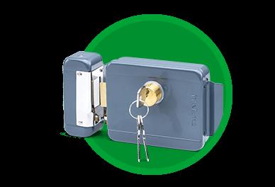 Ficha técnica e caractérísticas do produto Fechadura Eletrica de Cilindro Fixo Fx 2000