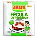 Ficha técnica e caractérísticas do produto Fécula de Mandioca Amafil 1 Kg Fécula de Mandioca Amafil 1 Kg