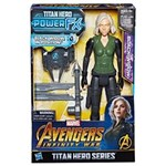 Ficha técnica e caractérísticas do produto Figura de Ação - Disney - Marvel - Avengers - Guerra Infinita - Titan Hero - Viúva Negra - Hasbro
