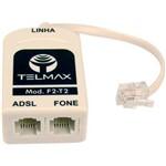 Filtro Modem Adsl Saida Ft Telmax