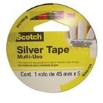 Ficha técnica e caractérísticas do produto Fita Adesiva Silver Tape 3939 45mm X 5m Scotch 3M