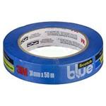 Ficha técnica e caractérísticas do produto Fita Crepe Blue Tape 24mm X 50m 3m Scotch 26036