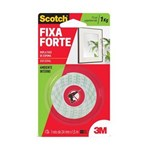 Ficha técnica e caractérísticas do produto Fita Dupla Face Espuma Adesiva Fixa Forte - Rolo de 24mm X 1,5m Scotch 3M