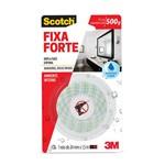 Ficha técnica e caractérísticas do produto Fita Dupla Face Fixa Forte Banheiro 24mm X 1,5m - Scotch 3m