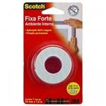 Fita Dupla Face Fixa Forte Scotch de Espuma Ambiente Interno 24mm X 1,5m (Emb. Contém 1un.) -3M