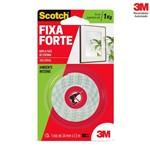 Fita Dupla Face 3m Scotch Fixa Forte 24mm X 1,5m