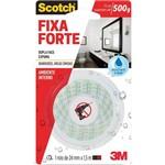 Ficha técnica e caractérísticas do produto Fita Fixa Forte Banheiro 24mmx1,5mm 3m Unidade