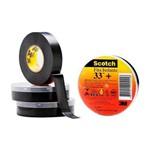 Ficha técnica e caractérísticas do produto Fita Isolante 19 Mm X 20 Metros - Scotch 33+ - 3m (preto)